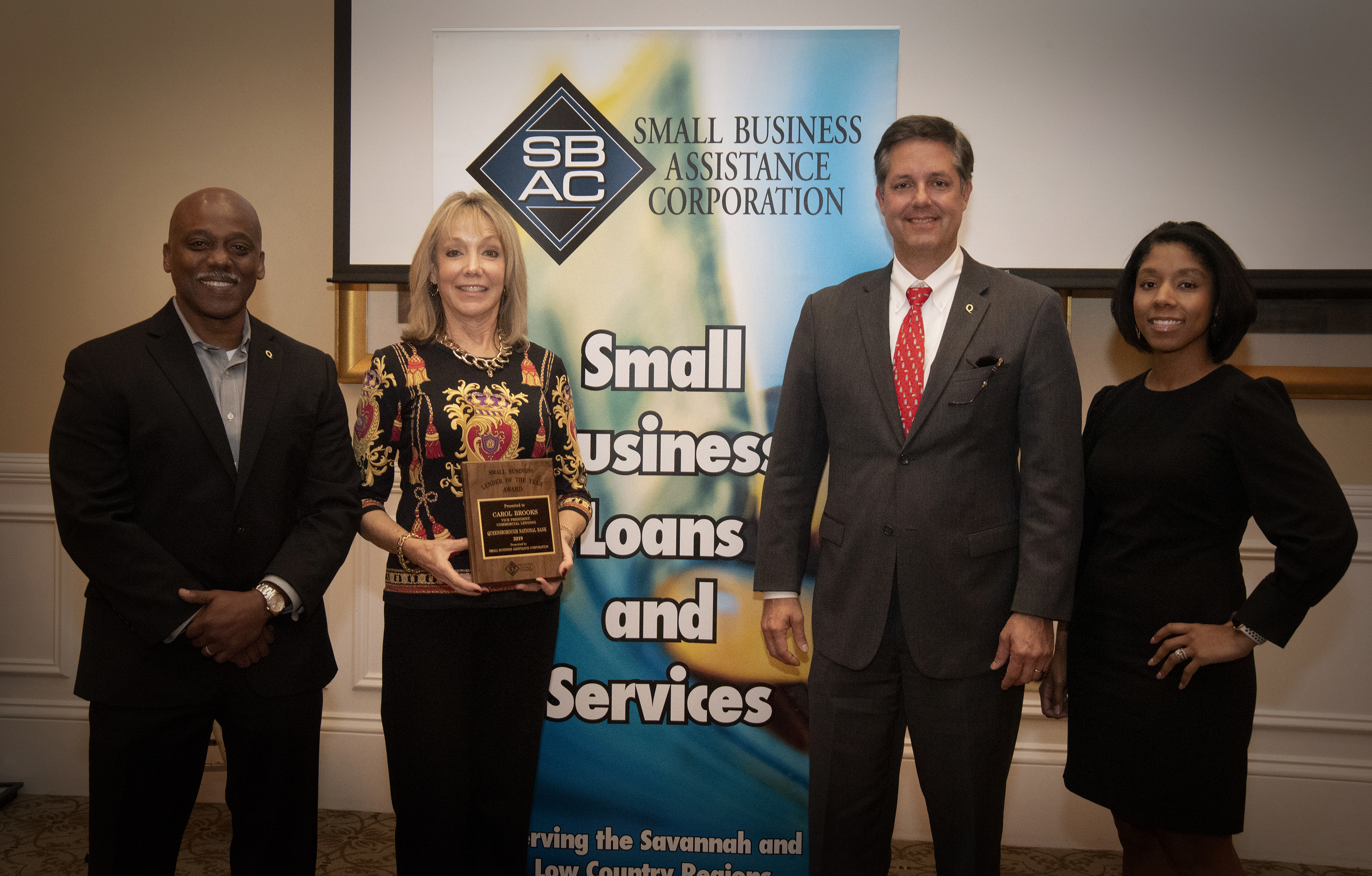 SBAC Small Business Lender of the Year – Carol Brooks, Queensborough National Bank and Trust Company